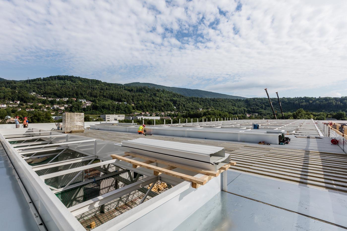 kämpfer, fassade, dach, flachdach, spenglerarbeiten, metallbau, blitzschutz